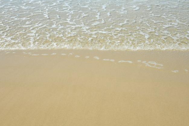 Playa para el fondo.