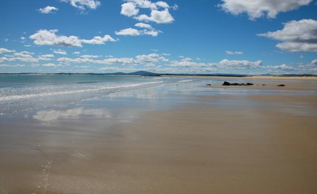 Playa en un hermoso día