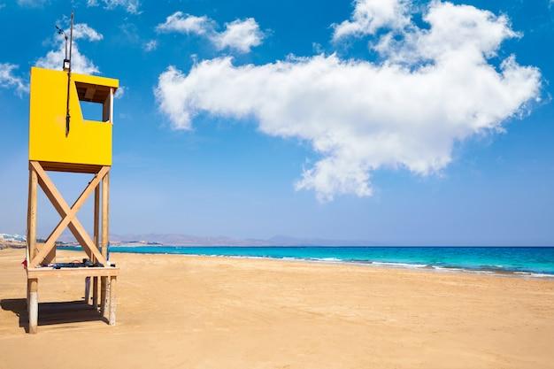 Playa jandia sotavento fuerteventura canarias