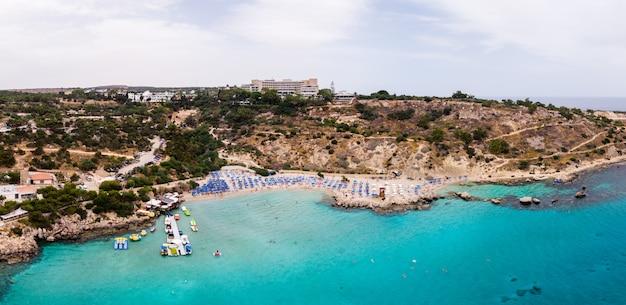 Playa de konnos en chipre