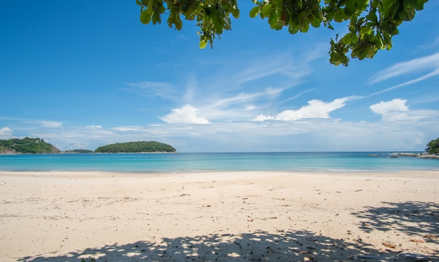 Playa en verano