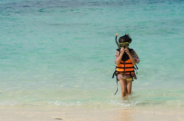 Playas infantiles del océano