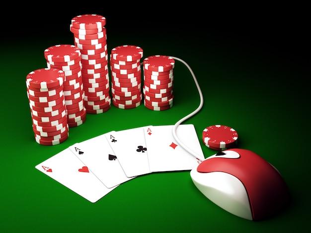 Póker en línea