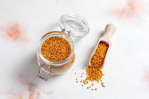 Polen de abeja de alimentos medicinales.