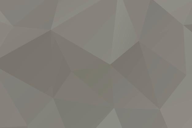 Polígono de mosaico beige abstracto emergió