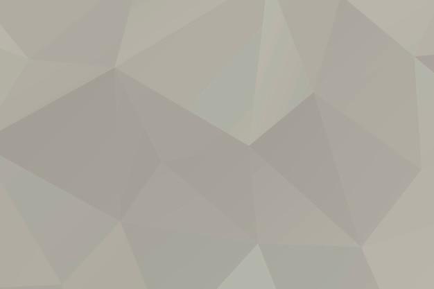 Polígono de mosaico beige abstracto surgió de fondo