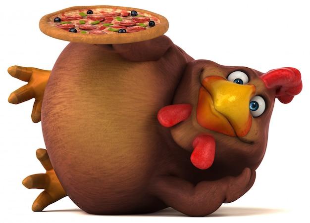 Pollo divertido