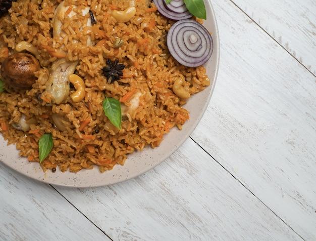 Pollo makbous al-thahera