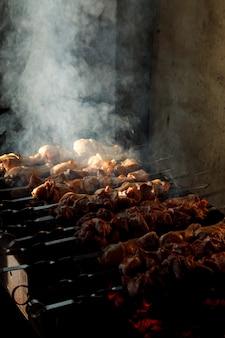 Pollo a la parrilla a la parrilla