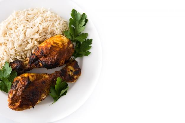 Pollo tandoori asado