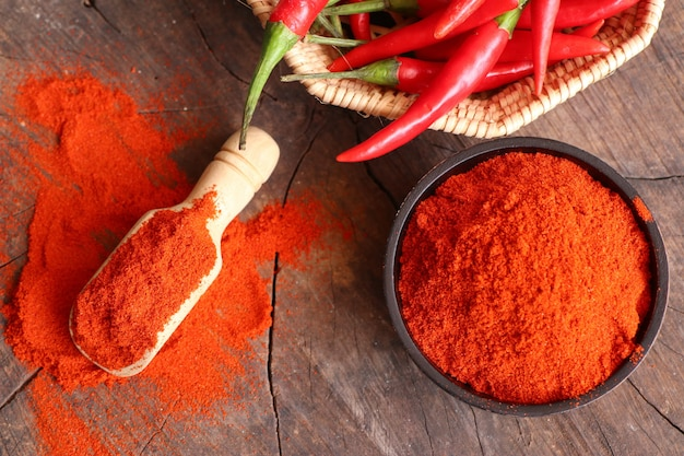 Polvo de chile rojo coreano