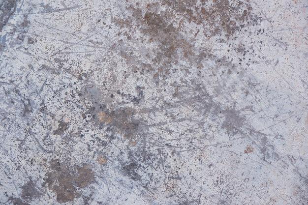Polvo de grunge y textura de fondo de metal rayado