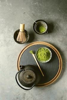 Polvo matcha de té verde
