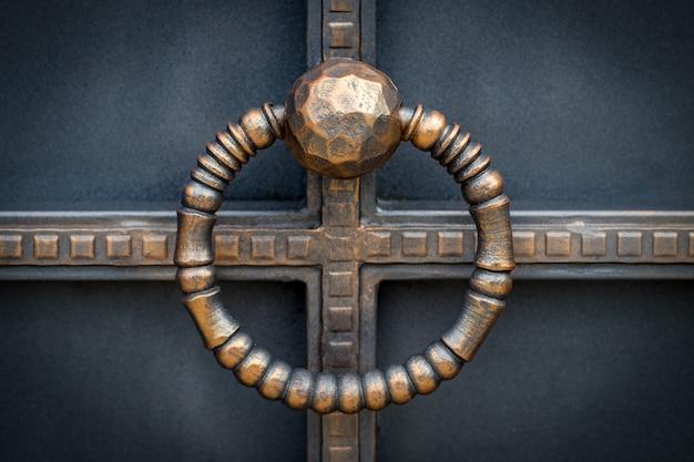 Portones de hierro forjado, forja ornamental.