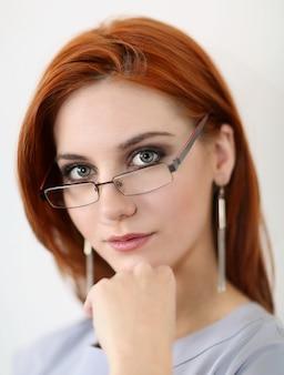 Portriat de la joven