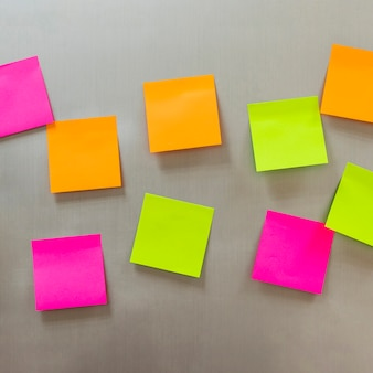 Post its en nevera