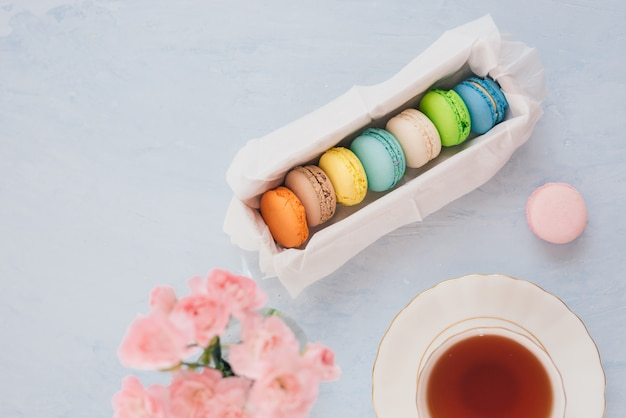 Postre francés para acompañar el té de la tarde o el café.