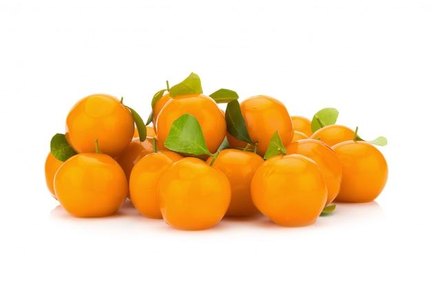 Postre de naranja.