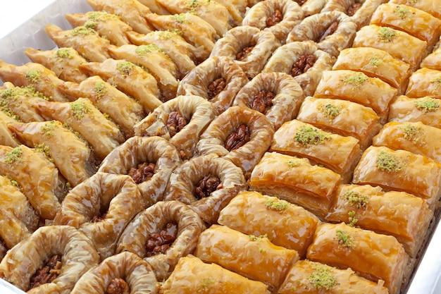 Postre de ramadán turco baklava