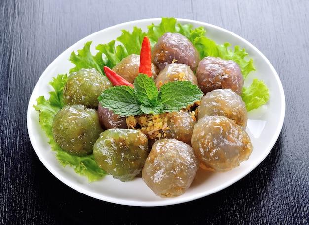 Postre tailandés (sweet thai thai dessert)