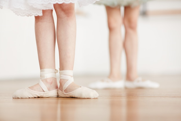 Práctica de ballet