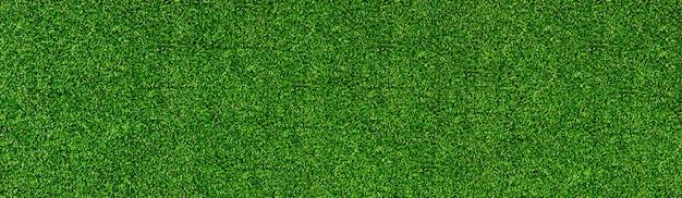 Prados de hierba de fondo de textura de patrón de hierba verde en campo de fútbol o banner de vista superior de golf