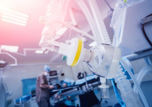 Pre oxigenación para anestesia general.