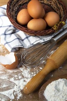 Preparación cocción hornear cocina
