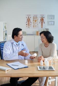 Prescripción de medicamentos al paciente