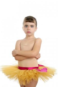 Presentación del retrato de la niña de la bailarina