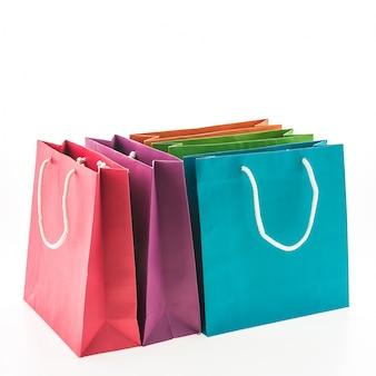 Presente compra venta vacío colorido
