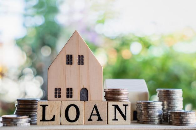 Préstamos hipotecarios, vivienda, concepto inmobiliario