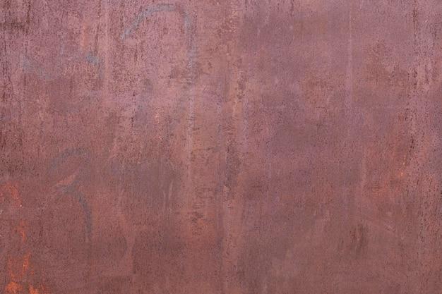 Primer plano abstracto de papel pintado metálico oxidado