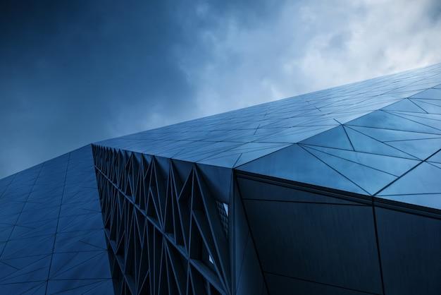 Primer plano de la arquitectura moderna en chongqing, china