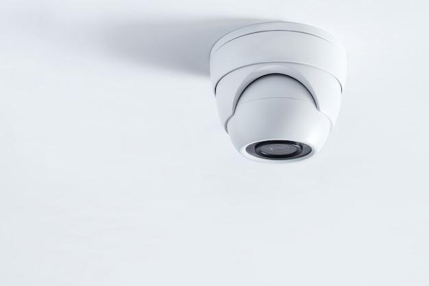 Primer plano de la cámara de cctv. cámara de seguridad del sistema.cctv