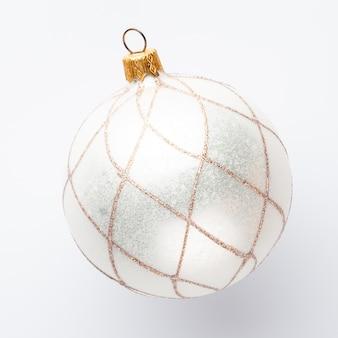 Primer plano de la decoración de navidad