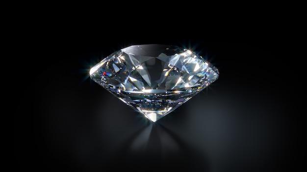 Primer plano de diamante