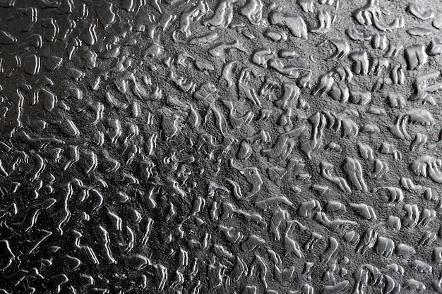 Primer plano de fondo gris metálico