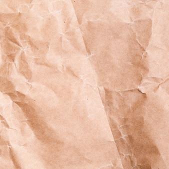 Primer plano de fondo de papel arrugado