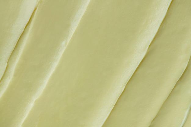 Primer plano de fondo de textura de glaseado verde