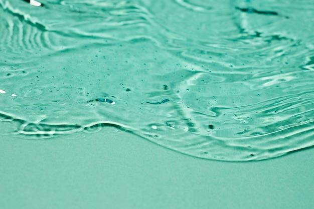 Primer plano de gel hidroalcohólico