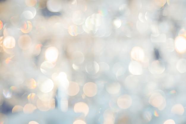 Primer plano de la lámpara de chrystal. fondo de glamour con espacio de copia