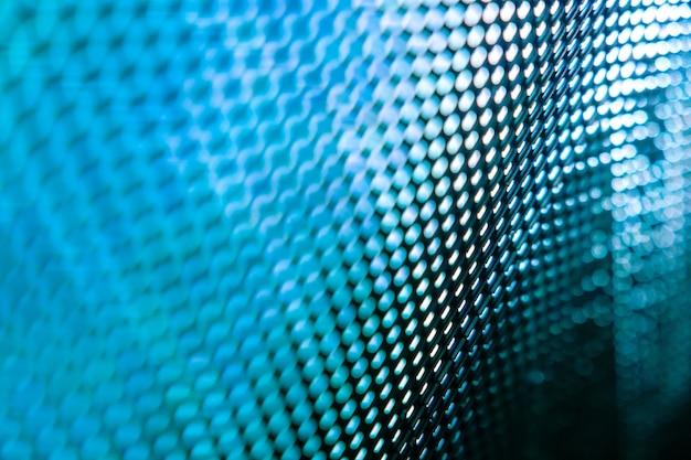 Primer plano led pantalla borrosa. fondo de foco suave led. fondo abstracto
