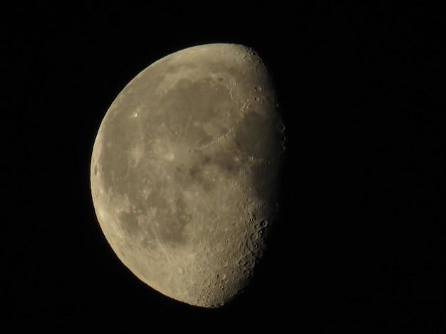 Primer plano de luna llena
