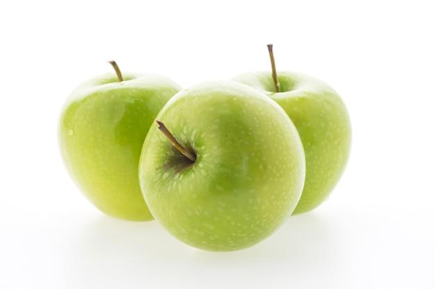 Primer plano de manzanas frescas