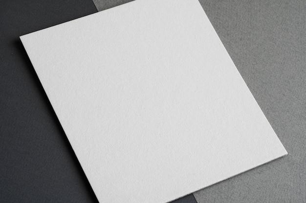 Primer plano de material de papel sin adornos