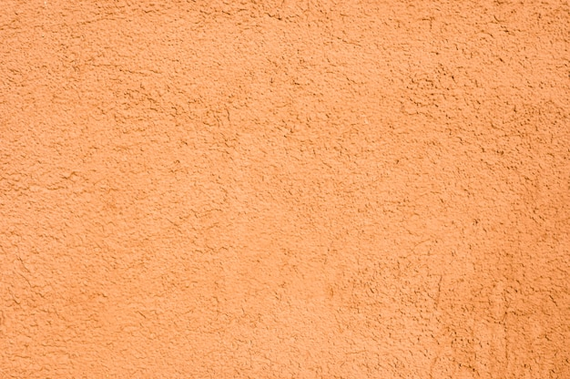 Primer plano de la pared de la casa naranja