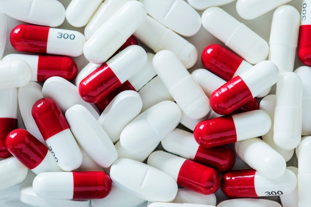 Primer plano de pastillas