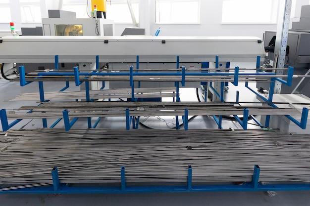 Primer plano de preparaciones metálicas de productos metálicos