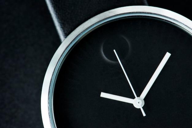 Primer plano de reloj